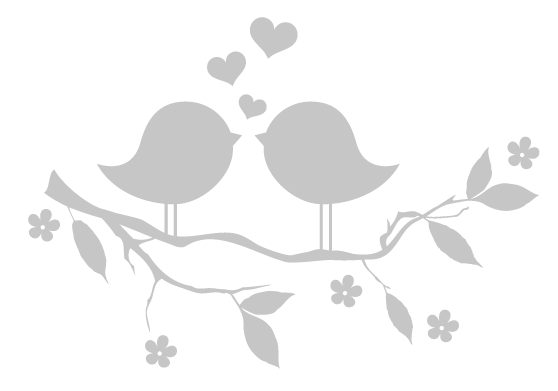 Love bird images black and white