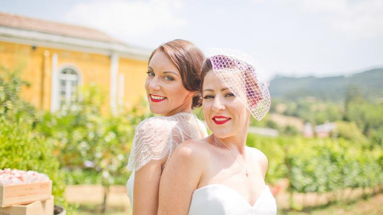 A Destination Wedding for Travel Lovers Janice and Janine