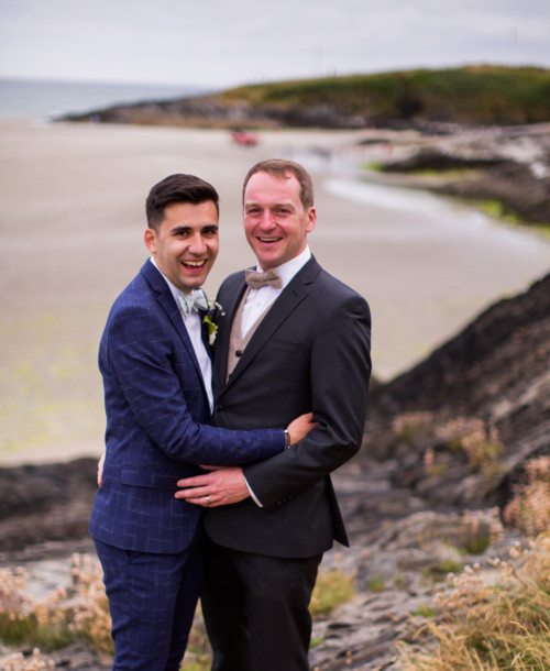 An Idyllic wedding at Inchydoney Island for Daniel and Matthieu