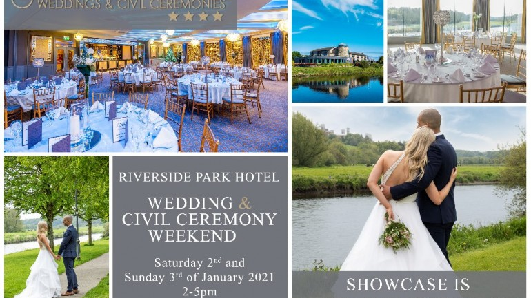 The Riverside Park Hotel Wedding and Civil Ceremony Showcase weekend.