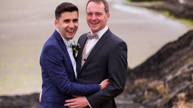 An Idyllic wedding atInchydoneyIsland for Daniel and Matthieu