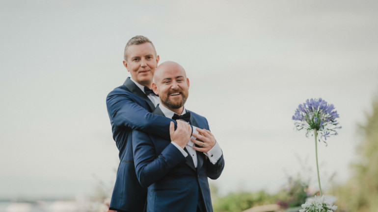 Michael's romantic proposal to JR led to their dream day